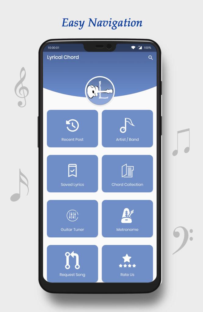 LyricalChord App Dashboard